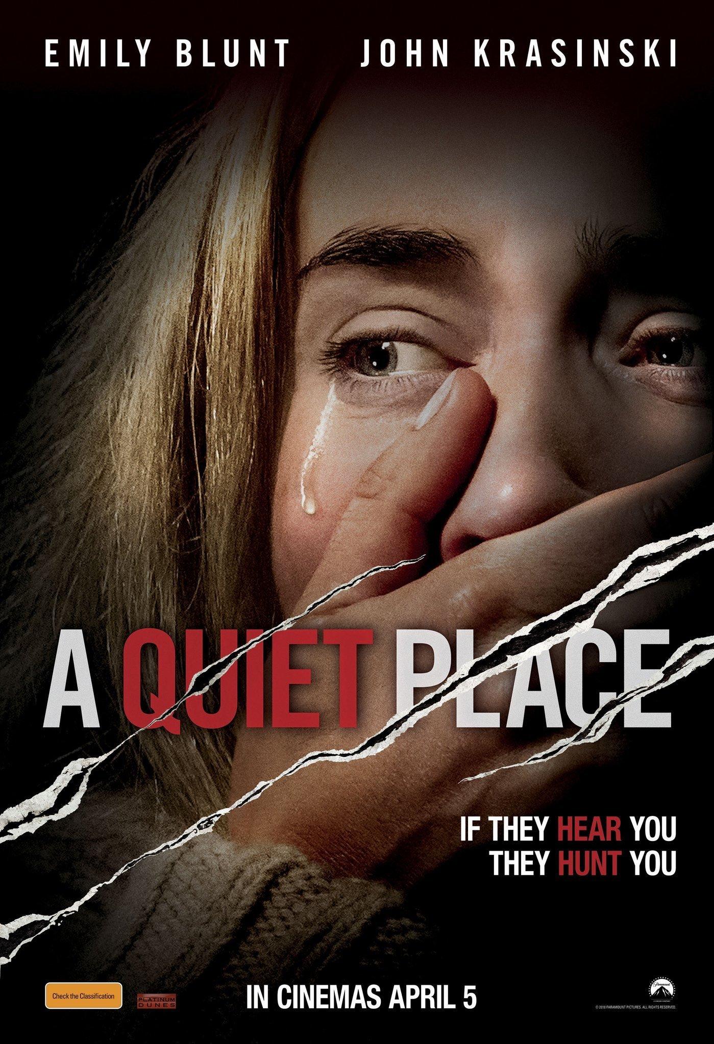 A Quiet Place - iTunes 4K - $3.95