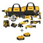 20-Volt MAX XR Lithium-Ion Cordless Combo Kit (9-Tool) with Bonus Battery 2-Pack $599