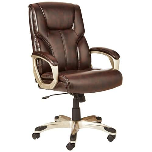 AmazonBasics High-Back Executive Chair $80