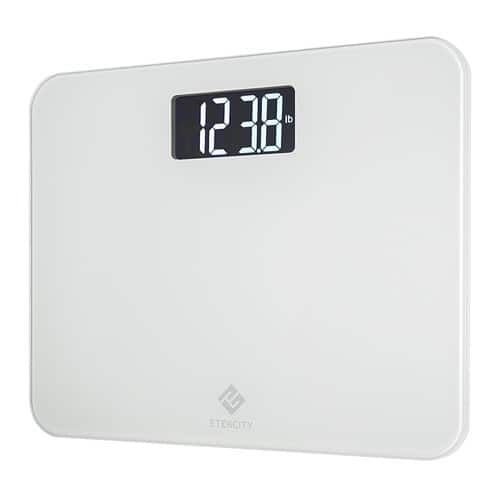 Etekcity Digital Body Weight Bathroom Scale with Step-On Technology $17.99