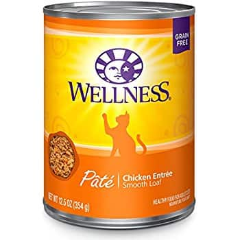 Wellness Cat Food 12.5-oz cans 12-pack - $24 $23.99