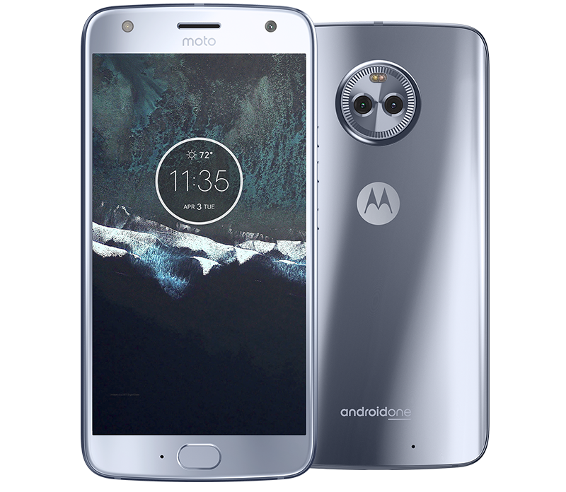 64GB Android One Moto X4 Smartphone w/ Activation + $50 Fi