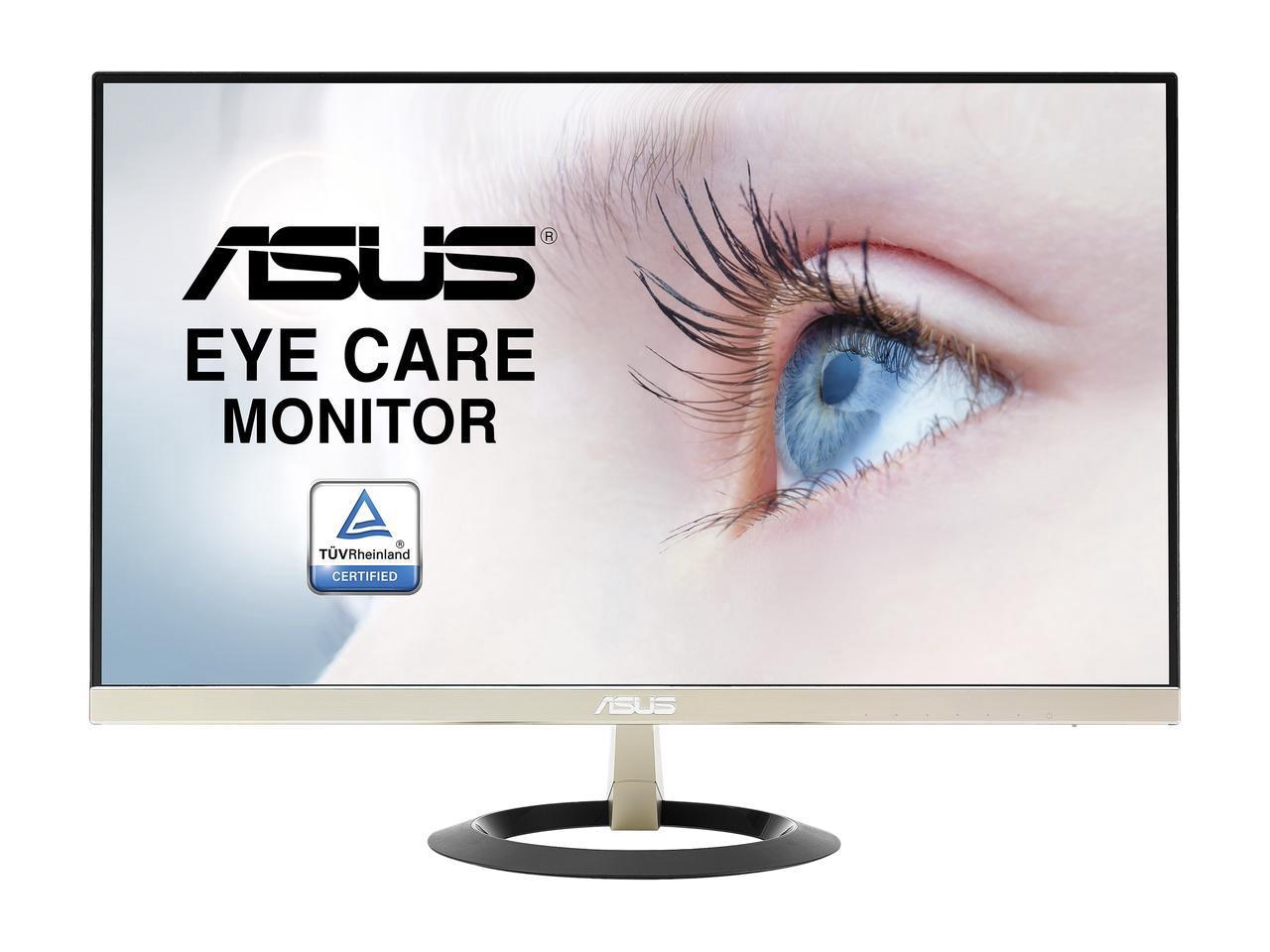 """ASUS VZ249H Frameless 23.8"""" 5ms (GTG) IPS Widescreen LCD/LED Monitors, $109.99"""