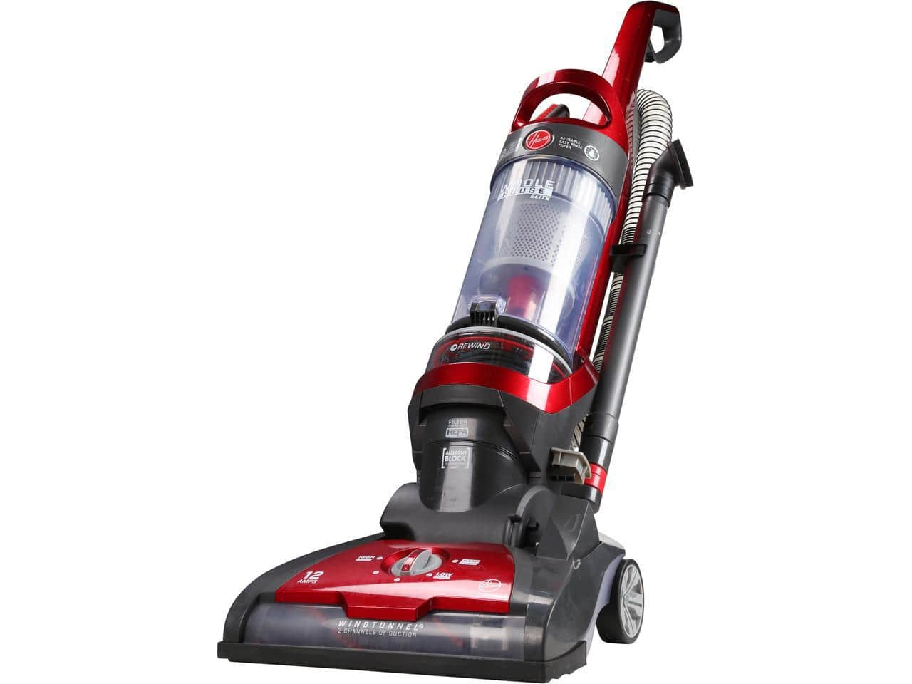 REFURBISHED  Hoover Whole House Elite Dual-Cyclonic Bagless Upright Vacuum Cleaner $44.99