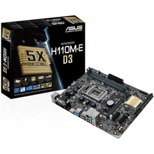 ASUS  Micro ATX Motherboards H110M-E/M.2 LGA 1151 Intel H110 HDMI SATA 6Gb/s USB 3.1 +Free Shipping