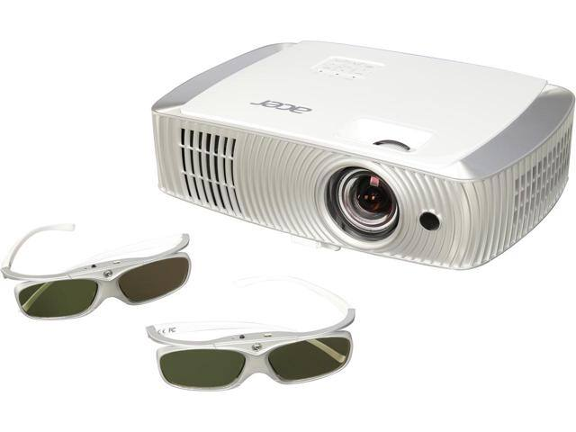 Acer H7550STz 1920 x 1080 3,000 ANSI Lumens (Standard), 2,400 ANSI Lumens (ECO) DLP Projector 16,000:1 w/ Code: EMCBBCE233 $649.99