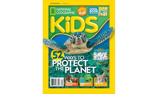National Geographic Kids Magazine 10 Issues for $15, 20 Issues for $25