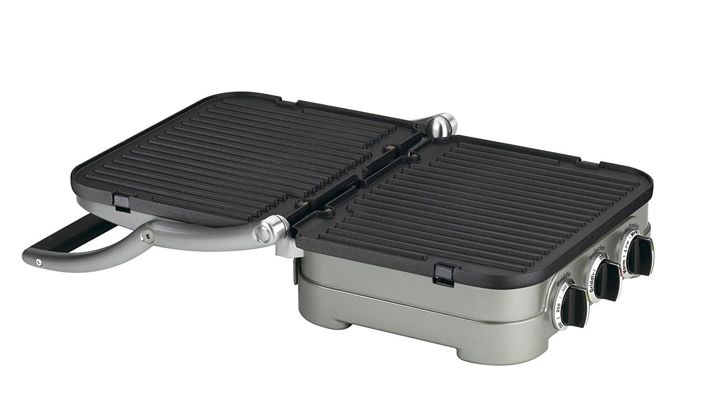 Cuisinart GR-4N 5-in-1 Griddler, Silver, Black Dials 44.99 $44.99