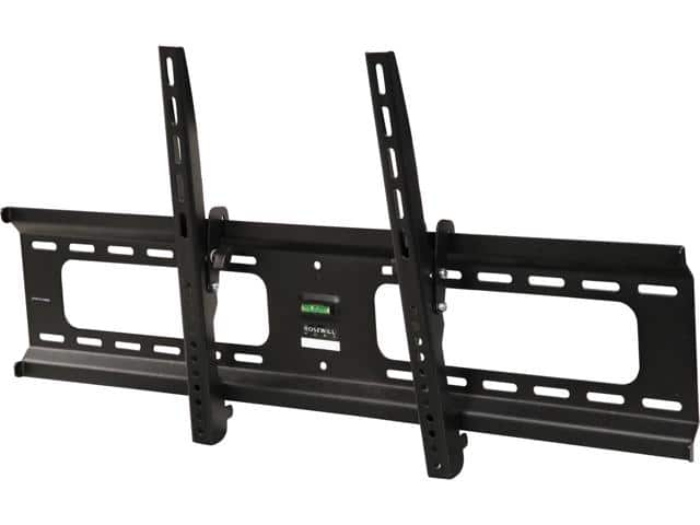 "Rosewill RHTB-17005 37"" to 90"" Slim Heavy-duty Tilting Curved & Flat Panel LCD LED TV Wall Mount - Max. Load 165 lbs., VESA Max 800x400mm, Black-$18.99"