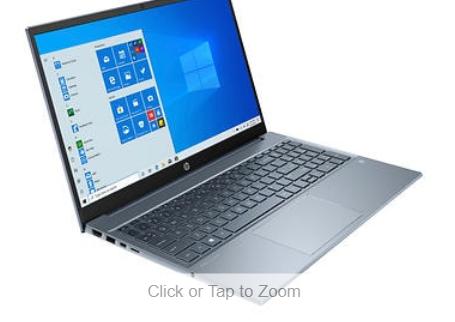 "Costco Members: HP Pavilion 15.6"" Touchscreen Laptop - 11th Gen Intel Core i7-1165G7 (Starting 6/12) $749.99"