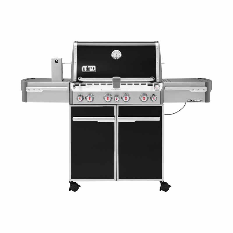 Weber Summit E-470, 7171001 4 Stainless Steel Burner 48,800 BTU With Side Burner, Summit, BLK/SS $1299.99
