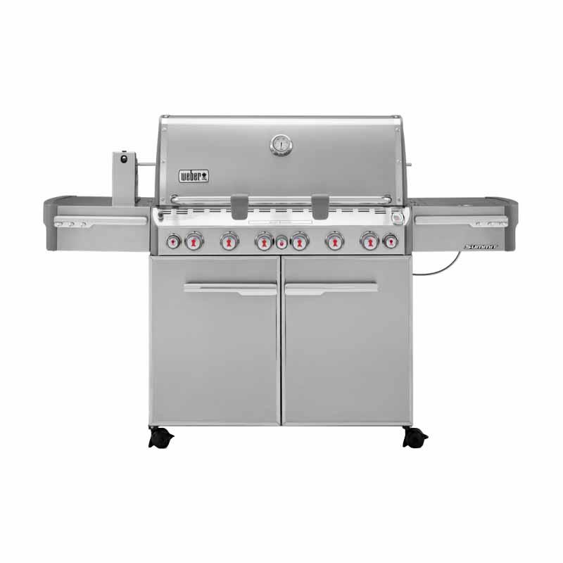 $1,373.00 !  Weber Summit S-670 370001 6 Stainless Steel Burner 60,000 BTU, Side Burner Infrared Rotisserie, SS $1373