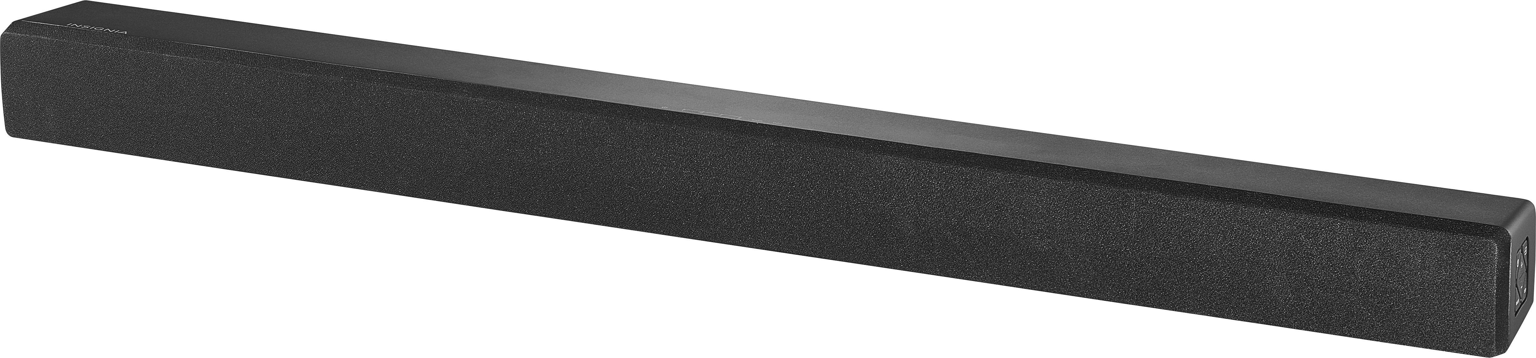 Insignia™ - 2.0-Channel Soundbar with Digital Amplifier - Black $39.99