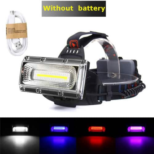 30W LED COB USB Rechargeable Headlamp Fishing Torch Flashlight $11.66+Free Shipping