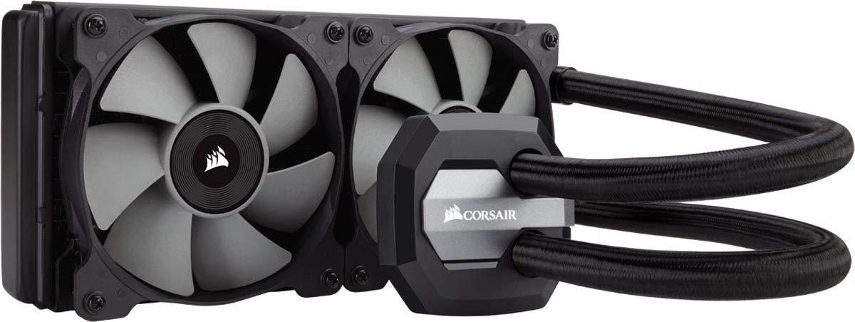 CORSAIR Hydro Series H100i v2 AIO Liquid CPU Cooler, 240mm Radiator, (Refurbished) $60