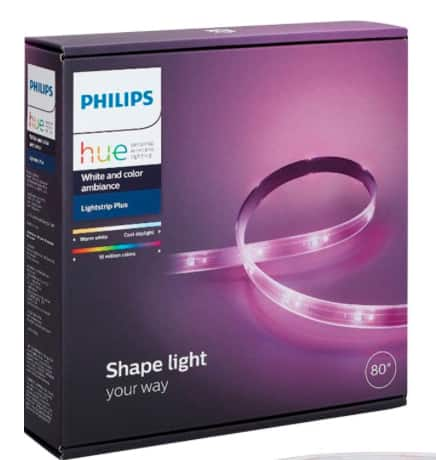 Hue Light Strip 2nd Gen $69.99 Amazon / Best Buy
