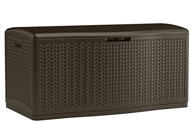 Suncast 124-Gallon Deck Box for $99 at Lowe's
