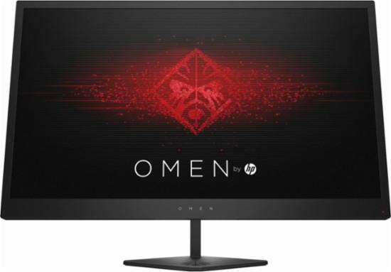 "HP - OMEN 24.5"" 144hz 1080p anti-glare widescreen flat-panel LED monitor w/ Freesync $199.99"