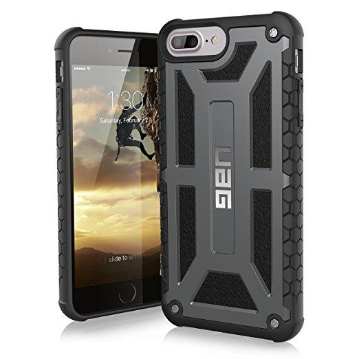 UAG Monarch Case for iPhone 6 Plus/6s Plus/7 Plus/8 Plus (Graphite) (Normally $56) $33.95