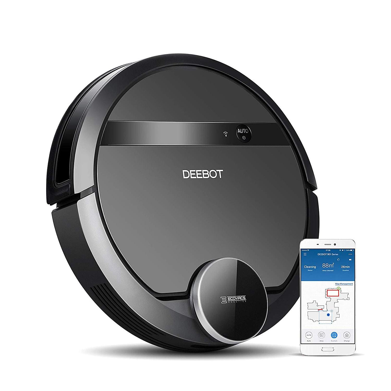 Ecovacs Deebot 901 Robotic Vacuum Cleaner for 250 at Sam's club