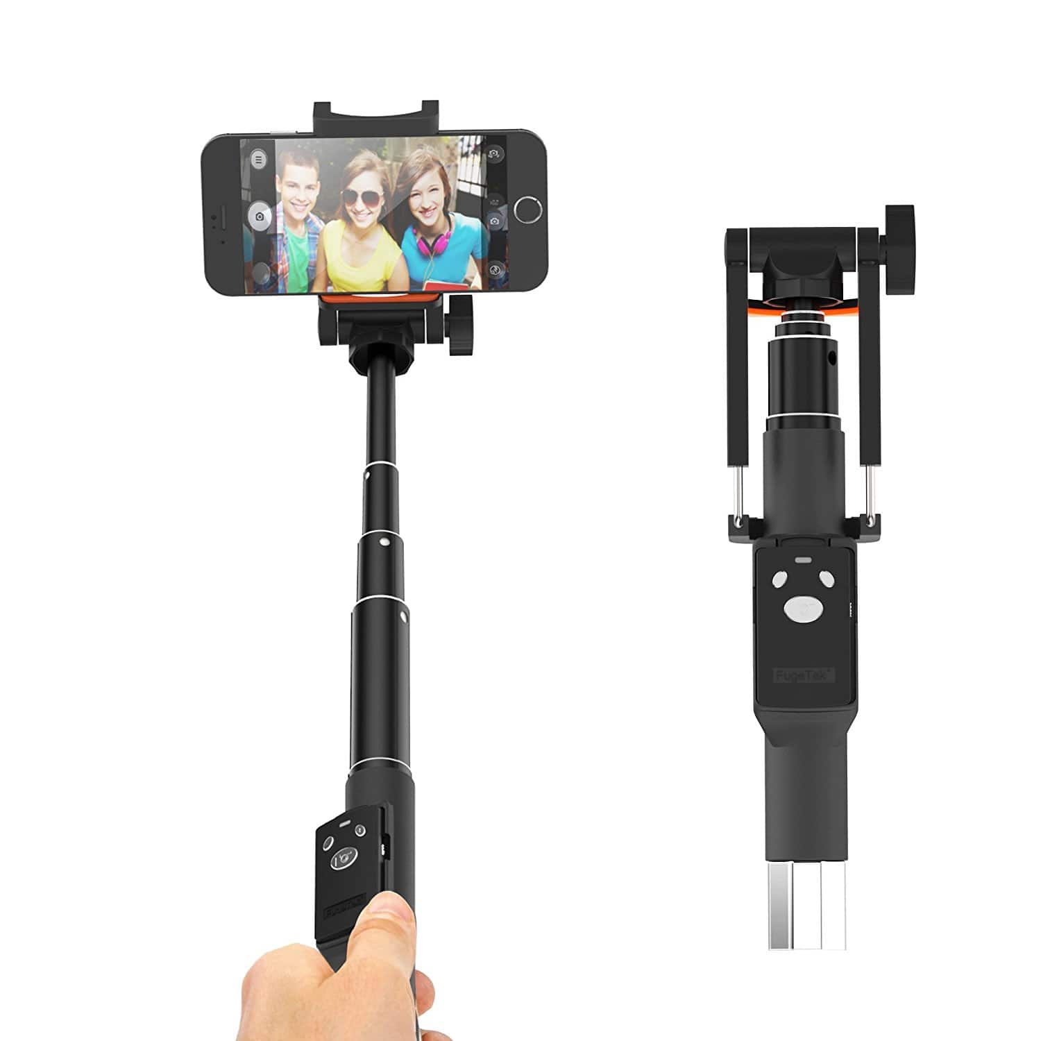 "32"" Professional Pocket Size Selfie Stick on amazon lightning deal $11.24"