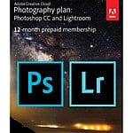 B&H- Save $20 on Adobe Creative Cloud Photography Plan (Photoshop & Lightroom) (12 Month Subscription)