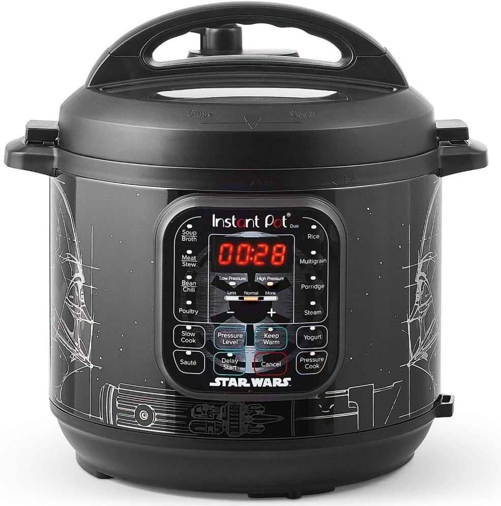 Star Wars Instant Pot 6Qt Duo Darth Vader - $59.98 Free Shipping w/ Amazon Prime