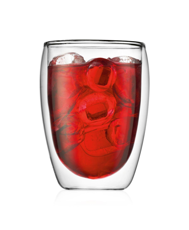 Bodum Pavina Glass, Double-Wall Insulate Glass, Clear, 12 Ounces Each (Set of 2) $13.99