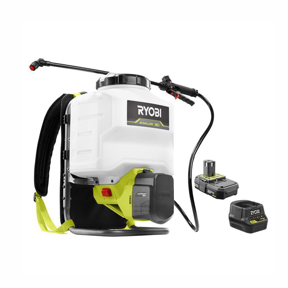Ryobi 18V 4 Gallon Backpack Sprayer Home Depot for $74.00 YMMV