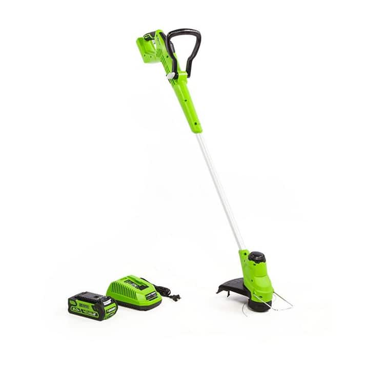 Greenworks 12inches 40v String Trimmer(battery and charger included) $49.98