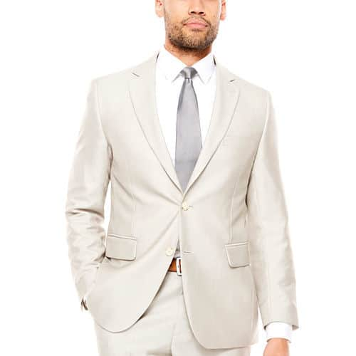 JF J.Ferrar Classic Fit Suit Jacket BONE COLOR (Use coupon code: 63FORYOU) F/S to store $51.74