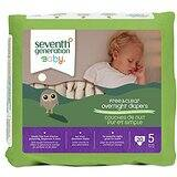 Size 5 Seventh Generation Overnight Diapers 80 count 78% off - Free Ship w/Prime~SS~$10.39