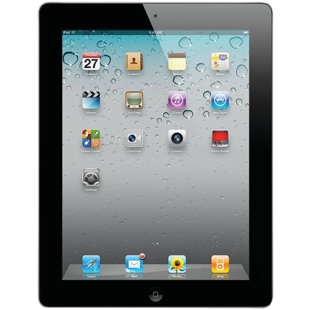 Apple iPad 2 MC769LL/A 16GB WiFi Black (Grade C) $99