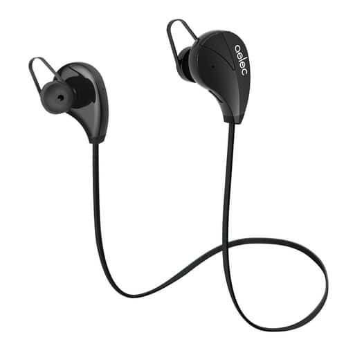 AELEC S350 Wireless Bluetooth Headphones In-Ear Sports Earbuds Sweatproof Earphones Noise Cancelling Headsets with Mic for Running Jogging [Dark dark]$14.69