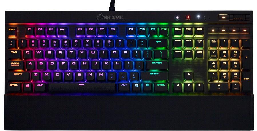 Corsair K70 RGB RAPIDFIRE Mechanical Keyboard (Refurbished) $94.99