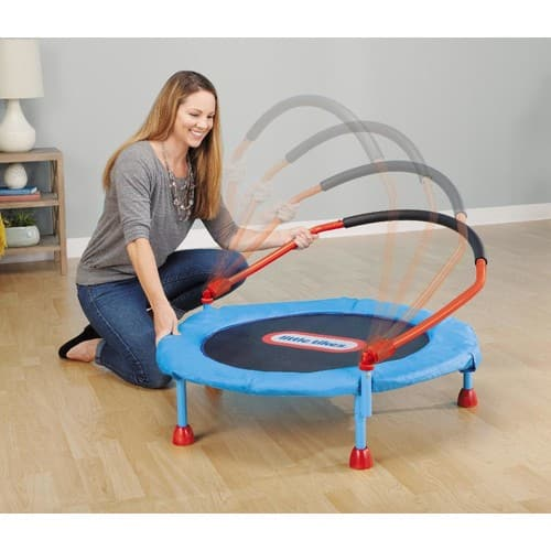 Little Tikes 3 feet Easy Store Indoor Trampoline - Walmart YMMV - Pick up at store $25