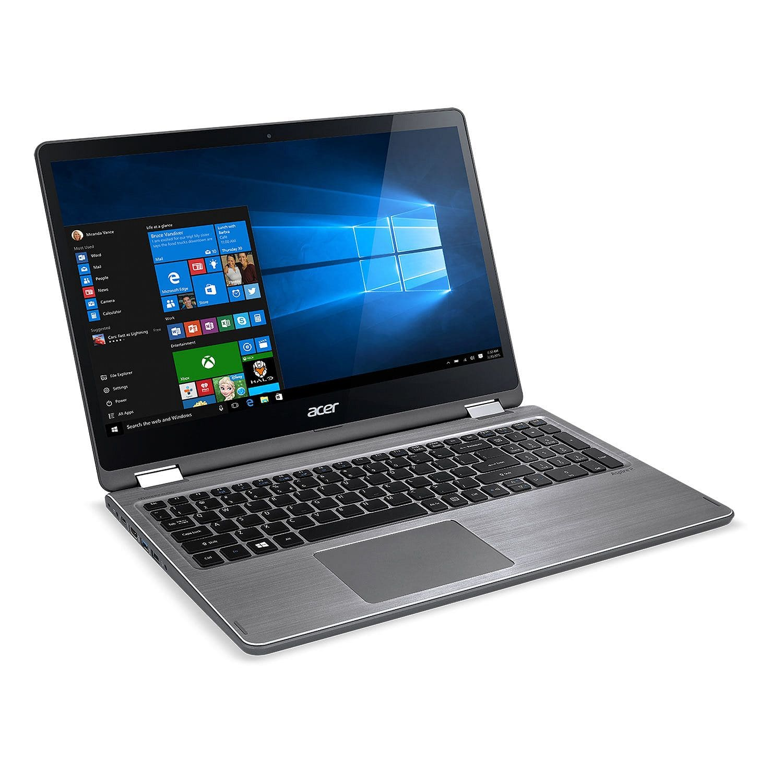 "Acer 2-in-1 Touchscreen Convertible 15.6"", Full HD IPS Notebook, Intel Core i7-7500U Processor, 12GB Memory, 1TB Hard Drive $599"