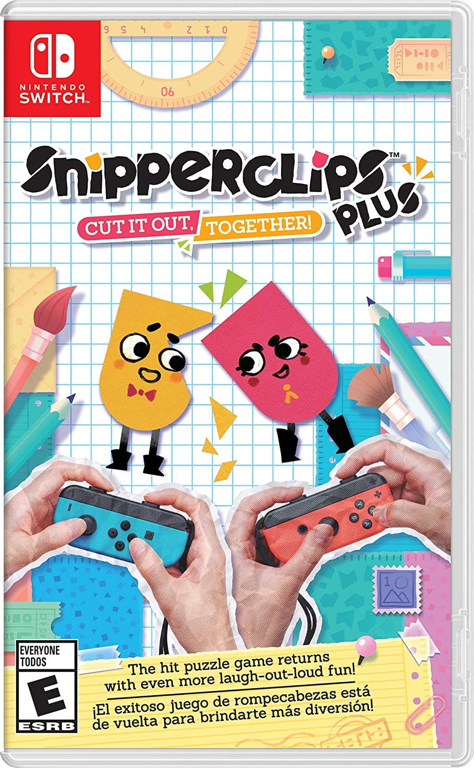 $29.99 Snipperclips Nintendo Switch on Amazon.com