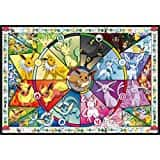 Star Wars Battle of Hoth 2000 pc & Pokemon Eevee's Stained Glass 2000 pc Puzzle $15.99 on Amazon.com (OOS)