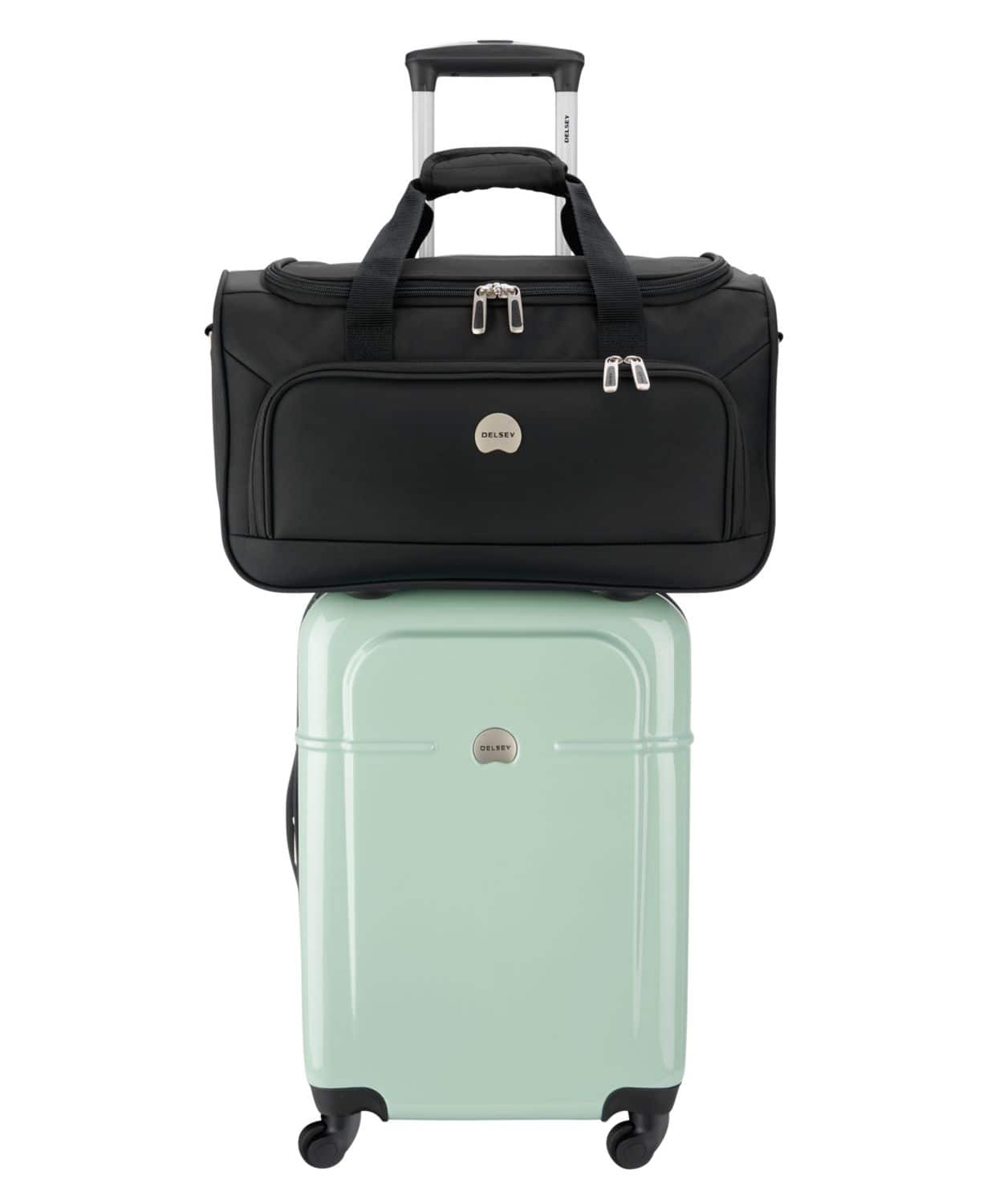Delsey Carry-On Spinner with Bonus Duffel $79