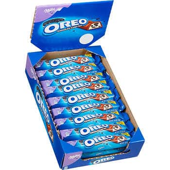 Oreo Milka Milk Chocolate Candy Bar, 1.44 oz, 24 ct $10.49 @ Costco Business Center (Warehouse Only)