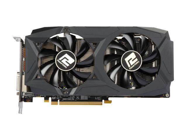 PowerColor RED DRAGON Radeon RX 580 DirectX 12 AXRX 580 8GBD5-3DHDV2/OC 8GB 256-Bit GDDR5 PCI Express 3.0 CrossFireX Support ATX Video Card Get 2 Free Games $179.99 AR F/S @ Newegg