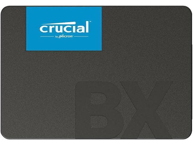 Crucial BX500 2 5 inch 480GB SATA III 3D NAND Internal Solid State