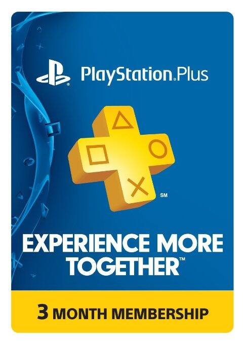 PlayStation Plus 3 Month Membership - $10 - Amazon - Digital Code