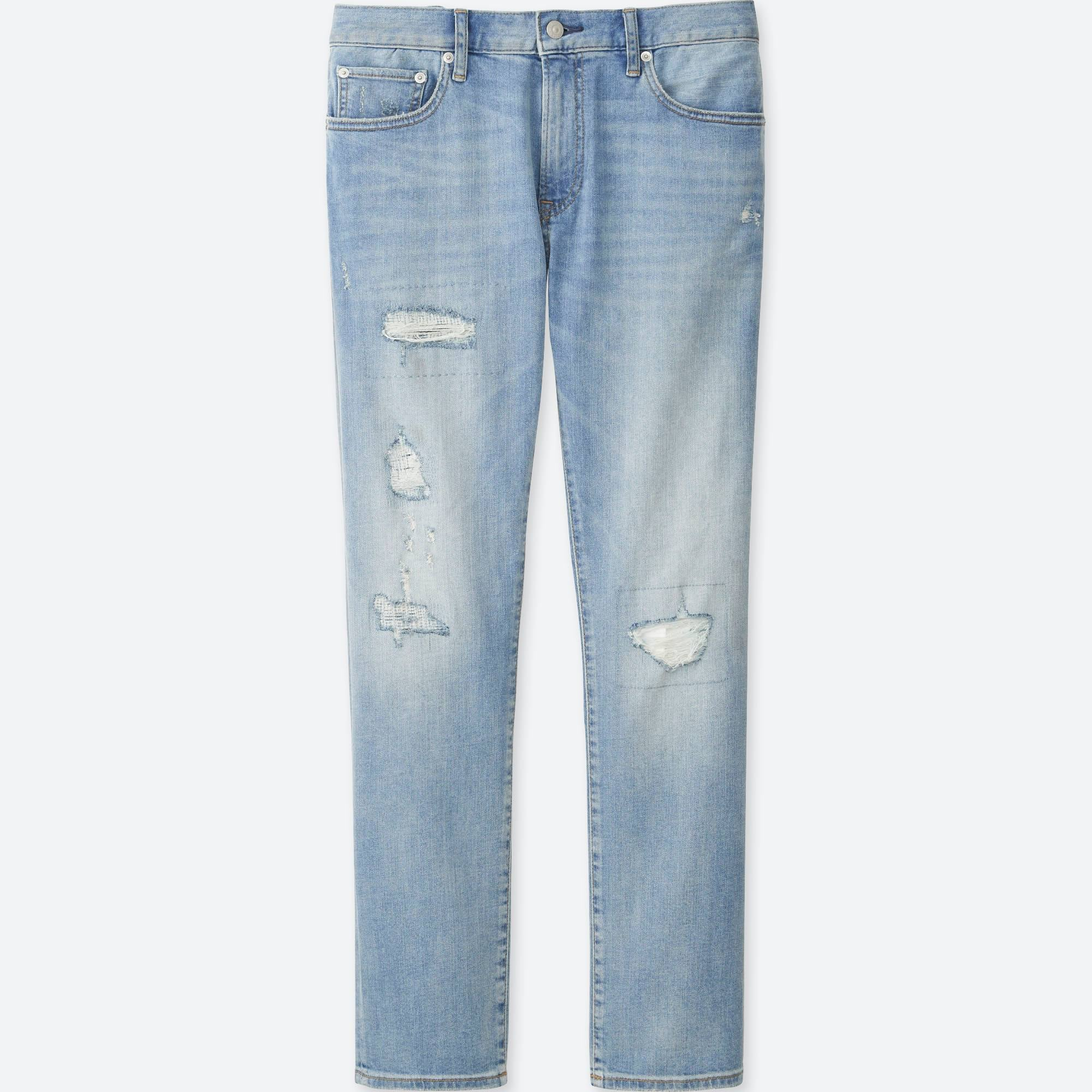 Uniqlo Slim Fit Distressed Jeans Regularly $49.90 Now. $9.90