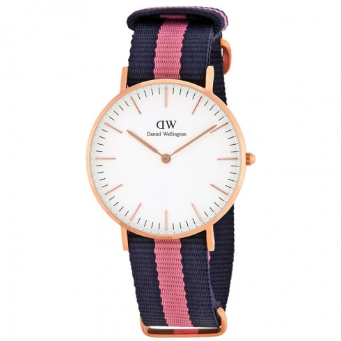 Daniel Wellington Winchester White Dial Ladies Watch DW00100033 - $87.99 + Plus $5 off with code