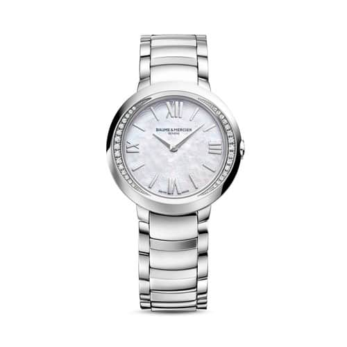 Baume Et Mercier Promesse Mother of Pearl Dial Ladies Watch 10160 - $1,169.00 + Free Shipping $1169