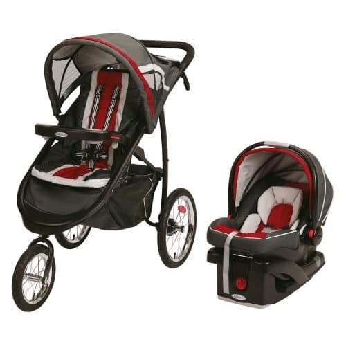 [AMAZON] - Graco Fastaction Fold Jogger Click Connect Baby Travel System, Gotham - $119