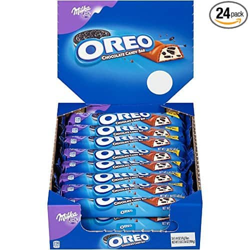 Oreo Chocolate Candy Bar, 1.44 Ounce (Pack of 24) $11.88 at Amazon
