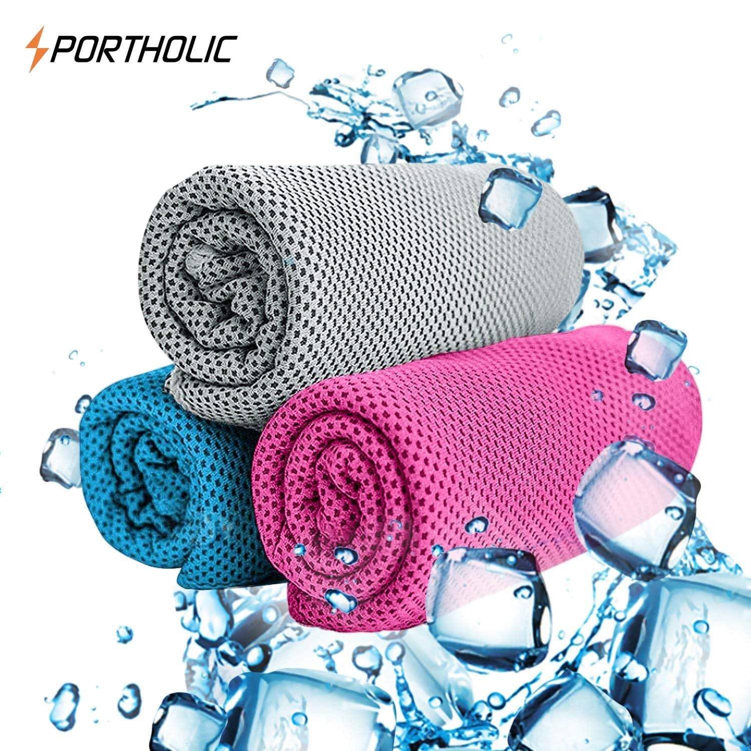 Cooling Towel, Instant Cooling Ice Relief, Staying Cool for Running $3.99